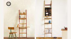 はしごのカタチがユニーク北の大自然から生まれた暮らしに合わせていろいろ組み替えれる家具tikkaティカー