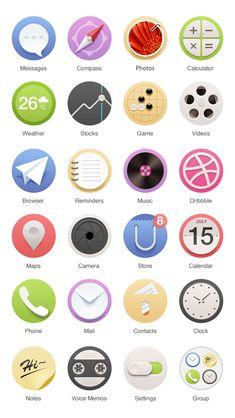 Mobile Icon Home Screen