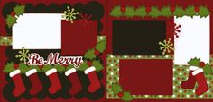 Be Merry Page Kit