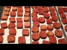 Tomato Paste Freeze Dried Harvest Right Freeze Dryer Food Storage For Sauce, Chili and Soups -