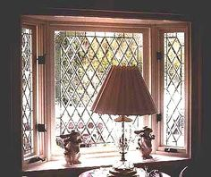 Diamond Bevels: A Timeless Beveled Glass Pattern....would love this on custom china cabinet doors