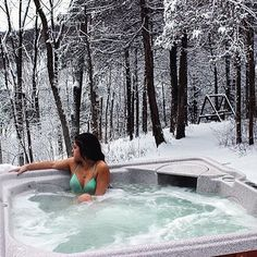 Plenty of hot tubs in the Galena Territory just waiting for you to jump in.❄️ photo by @singa432 on Instagram