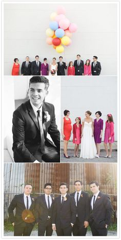 I love everything about this wedding! The dress, the details... oh my! Love the idea of a prop with family pictures.