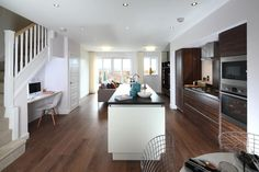 Modern living. Island living, mixing up colours and textures for depth in your design #hotlooks #kitchen