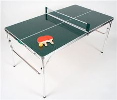 A ping pong table can make for some fun times. Why not give someone you know a ping pong table for their birthday? Mini Ping Pong Table, Folding Ping Pong Table, Outdoor Ping Pong Table, Folding Tables, Table Tennis Game, Mini Store, Toy Store, Ping Pong Paddles