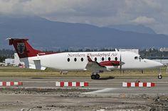 Northern Thunderbird Air C-FDTR Beech 1900D UE-76 YVR Vancouver Airport 2012