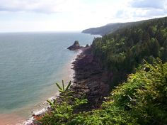 Fundy National Park, Alma Picture: Fundy Coastline from Cape Enrage - Check out Tripadvisor members' 938 candid photos and videos of Fundy National Park Brunswick Maine, East Coast Travel, Canada Travel, Canada Trip, Prince Edward Island, Hiking Trails, Vacation Destinations, Places To See, Vacation