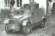 Morris armoured car of the 12th Lancers, France 1939: 'without the 12th Lancers only a small proportion of the Army would have reached Dunkirk' - CinC Lord Gort.
