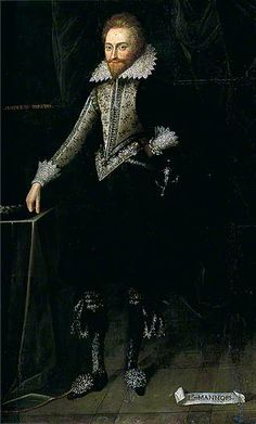 Francis Manners (1578–1632), 6th Earl Rutland by British (English) School Colchester and Ipswich Museums Service Date painted: c.1613–c.1615