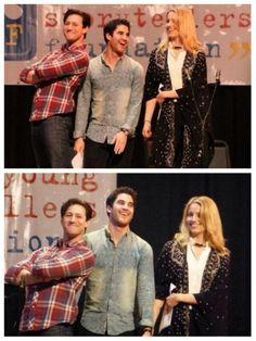 Darren, Dianna & Curt looking adorable