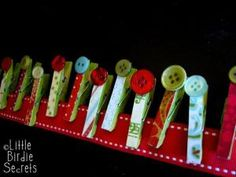 Hang your Christmas cards by rhoda