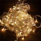 Warm White 10M 100 LED String Fairy Light Lamp For Wedding Party Xmas Room Decor