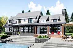 Exciting Farmhouse House Plan - 14659RK thumb - 05