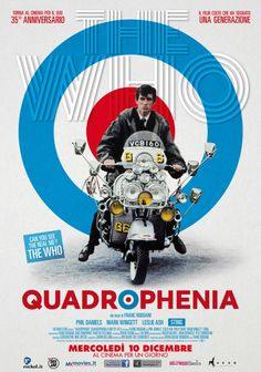 Quadrophenia (1979) Rerelease Poster Artwork