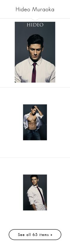 """""""Hideo Muraoka"""" by lemonade-lagoon ❤ liked on Polyvore featuring hideo muraoka, men, male models, men's fashion, models, people, shoes, flats, jewelry and watches"""
