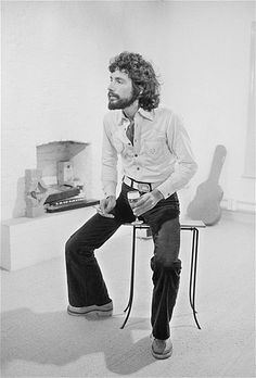 2014 Rock and Roll Hall of Fame inductee Cat Stevens (later Yusuf Islam), in March 1974. (© Michael Putland/Getty Images)