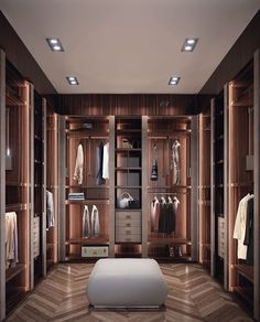 "Luxury Architecture on Instagram: ""Perfect closet 🔥 Follow @architxure for more luxury posts! Credit: Pinterest #architxure #luxuryhouses #millionare #dreamlife #luxurydesign…"" Luxury Wardrobe, Modern Wardrobe, Armoire, Bedroom Decor, Footlocker, Modern Closet, Closet, Cabinet, Dorm Rooms Decorating"