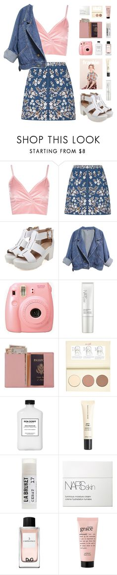 """""""O1.O2.17   New Year's Contest"""" by carechristine ❤ liked on Polyvore featuring Boohoo, Needle & Thread, Fujifilm, NARS Cosmetics, Royce Leather, River Island, J.Crew, Toast and philosophy"""