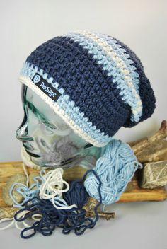 NovemberBlues - Beanie  von DaiSign auf DaWanda.com  wunderbare Beanie - Mütze - Wollmütze - Wintermütze - Häkelmütze - Strickmütze - Skimütze