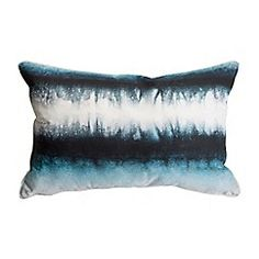 Graham & Brown - Blue Ink Tie Dye Cushion