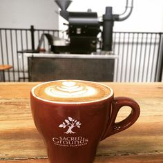 Coffee time! It's fairtrade, organic and delish, from the passionate team at Sacred Grounds Organic.