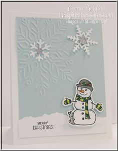 It's Thursday! And that is time for another Create with Connie and Mary Thursday Challenge! Surprise! I used the following color challenge to make a winter card! At first glance, winter w…