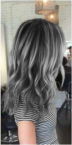 MODA VE GÜZELLİK SOKAĞI: Gri Saç Modasi