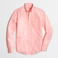 J.Crew Factory - Factory slim washed shirt in end-on-end