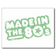 Made In The 80's Postcard We provide you all shopping site and all informations in our go to store link. You will see low prices onHow to          	Made In The 80's Postcard Online Secure Check out Quick and Easy...