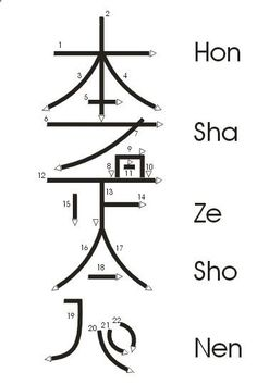 Reiki - Reiki - Great diagram on how to draw --Hon Sha Ze Sho Nen-- The very powerful and somewhat complex, Reiki Symbol for Distance Healing. This is one to learn for it expands your healing potential greatly. I was taught to use it for self healing as well, so you handle all layers of auric field and all soul aspects ❤tami - Amazing Secret Discovered by Middle-Aged Construction Worker Releases Healing Energy Through The Palm of His Hands... Cures Diseases and Ailments Just By Touchin...