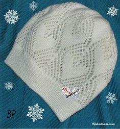 Весенняя шапочка (Вязание спицами) — Журнал Вдохновение Рукодельницы