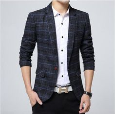 Mens Casual Suits, Blazers For Men Casual, Dress Suits For Men, Casual Blazer, Mens Suits, Men Dress, Suit Men, Blazer Outfits, Dress Outfits