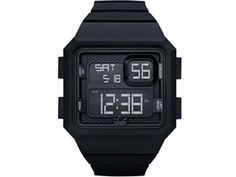 Curitiba Men's Black Digital Sports Watch with Backlight