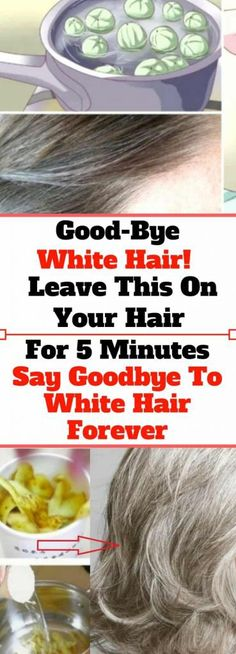 Leave This On Your Hair For 5 Minutes & Say Goodbye To White Hair Forever…! Health Routine, Health Guru, Health And Wellness, Healthy Juice Drinks, Unhealthy Diet, Healthy Exercise, Pregnancy Health, Natural Home Remedies