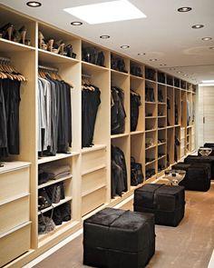Vera Wang's closet