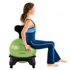 Exercise Ball Chair For Back Pain Costco Cushions 31 Best Active Sitting Images Yoga 3 Stretches To Beat Without Getting Up From Your Hipflexor