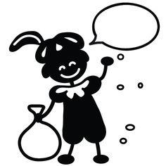 SORPRENTAS Sinterklaas cadeau Stempel Zwarte Piet