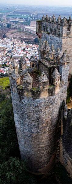 Almodovar del Rio Castle, Cordoba, Spain