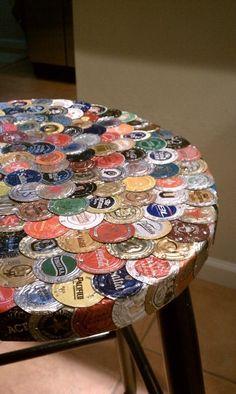 Préférence Dessous de plat en capsules de bière | DIY Récup et Recyclage  IA04