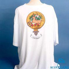 Maxwell Clan Crest T-shirt