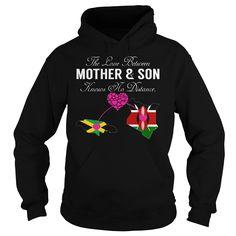 (New Tshirt Produce) Mother Son Jamaica Kenya at Tshirt Best Selling Hoodies, Funny Tee Shirts