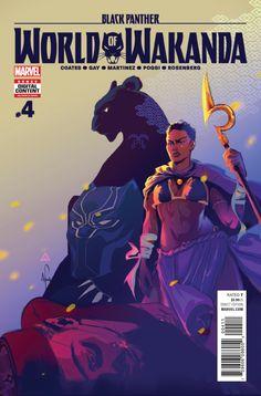 Black Panther World of Wakanda (2016) Issue #4