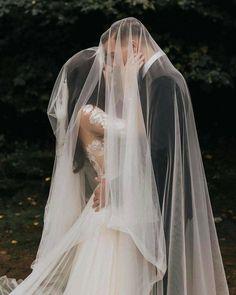 Wedding Ceremony Ideas, Wedding Veils, Our Wedding Day, Perfect Wedding, Dream Wedding, Wedding Dresses, Party Wedding, Wedding Hair, Bridal Hair