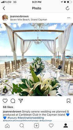 Beach wedding, Cayman destination Wedding