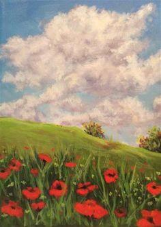 "Daily Paintworks - ""Joyful"" - Original Fine Art for Sale - © wendy black"