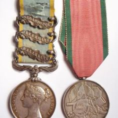 Crimea Medal (3 Bars) and Turkish Crimea Medal - 1st Bn. Scots Fusilier Guards - Slightly Wounded | Cultman Collectables