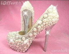pearls and diamonds - HeelsFans.com