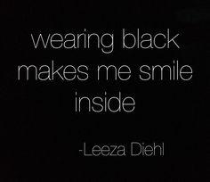 FOR STYLE INSPIRATION || Wearing black makes me smile inside || NOVELA...where the modern romantics play & plan the most stylish weddings...Instagram: @novelabride www.novelabride.com