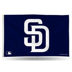 San Diego Padres MLB 3in x 5in Banner Flag