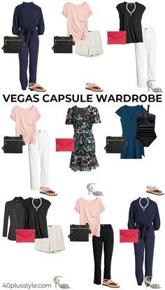 Vegas capsule wardrobe   40plusstyle.com